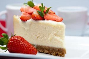 Cheesecake new yorkais photo