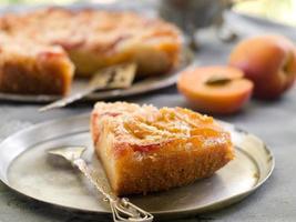 gâteau aux abricots photo