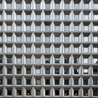 fond architectural avec des fenêtres. gratte-ciel de new york, amérique photo