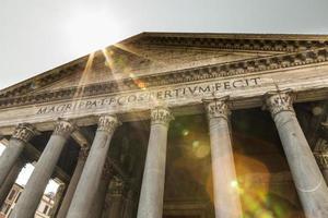 panthéon de rome photo
