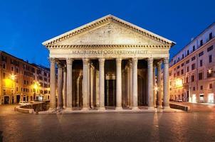panthéon, rome - italie. photo