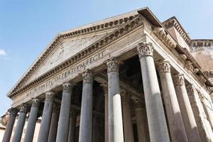 panthéon, rome, italie photo