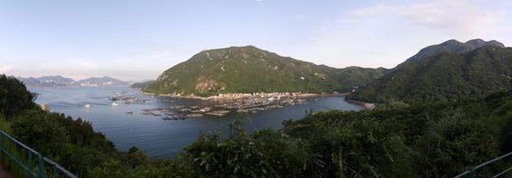 panorama de l'île de lamma
