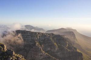 douze apôtres vus de la montagne de la table 2 photo