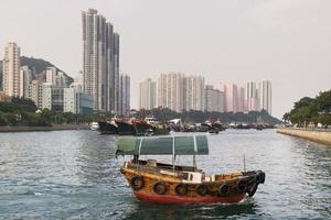 hong kong - aberdeen photo