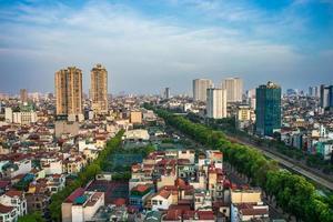 paysage urbain de ha noi photo