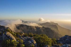 nuage roulant dans plus de douze apôtres 1 photo