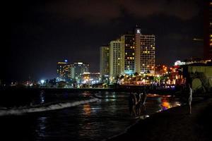 rivage de la ville photo