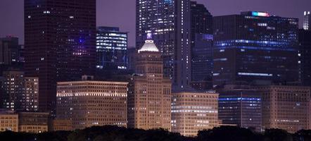centre-ville de chicago photo