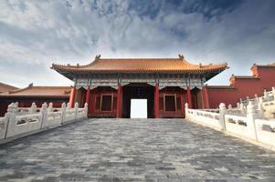 ville interdite, beijing, chine photo