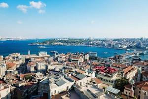 vue d'Istanbul depuis la tour de galata