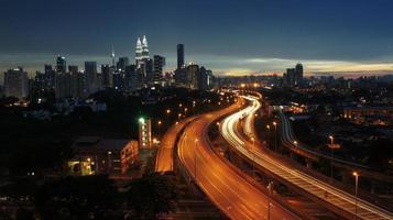 paysage de nuit photo