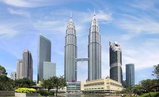 les tours jumelles Petronas. Kuala Lumpur, Malaisie photo