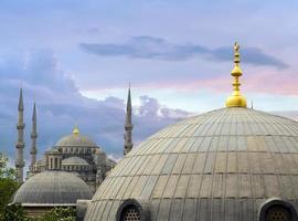 Intérieur de la hagia sophia à istanbul, turquie photo