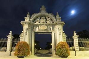 porte monumentale à madrid photo