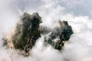 Mount Hua, Hua Shan, Xian, Chine photo