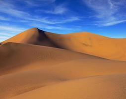 le matin solaire dans la vallée de la mort photo
