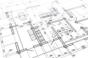plan intérieur de la maison photo