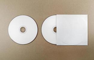 disque compact vierge photo