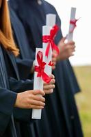 étudiants diplômés photo