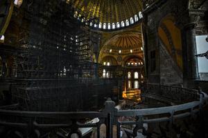 rénovations hagia sophia photo