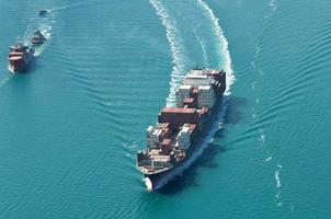 navire de transport de marchandises photo
