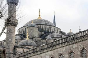 la mosquée bleue d'istanbul photo