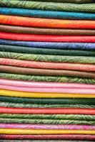 stock de tissu photo