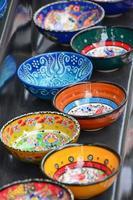 assiettes turques traditionnelles photo