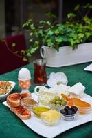 petit déjeuner turc photo