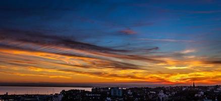 coucher de soleil de ramsgate photo