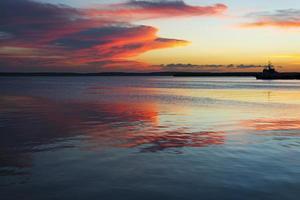 coucher de soleil des Caraïbes