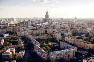 paysage urbain de moscou photo