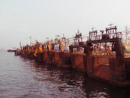 bateaux de busan photo