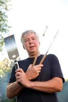 chef de barbecue photo