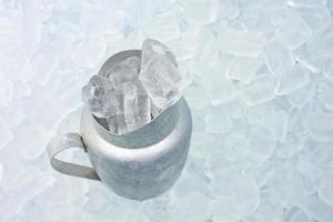 récipient avec de la glace photo
