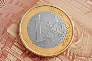 euro argent photo