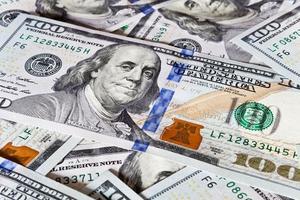 fond d'argent - dollars photo