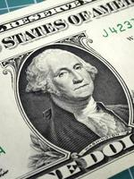 Benjamin Franklin sur le projet de loi de dollars hundert photo