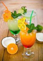 boissons tropicales photo