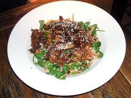 repas de canard au restaurant