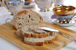 pâté de foie de poulet sur pain