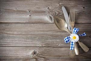 menu de spécialités bavaroises photo
