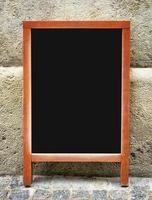 tableau de menu à l'ancienne