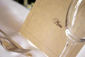Qu'est-ce qu'il y'a au menu..? photo