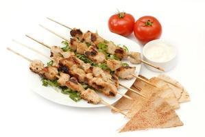brochettes de poulet - shish tawook