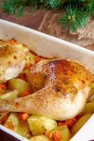 pilons de poulet rôti photo