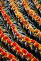 statue de poulets photo
