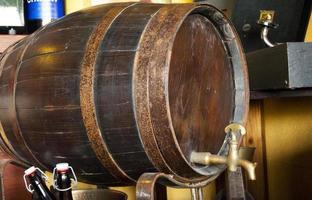 bière barrique photo