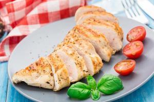 poitrines de poulet grillées
